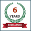 Celebrating six years of excellent service to children and their families.